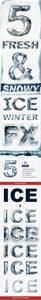 Graphicriver - Ice Chrome Photoshop Layer Styles - Frozen Metal Text Effect 18759353
