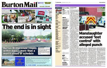 Burton Mail – August 01, 2018