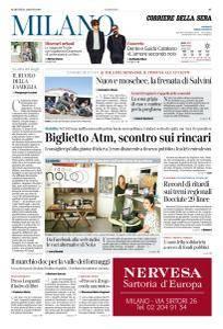 Corriere della Sera Milano - 21 Agosto 2018