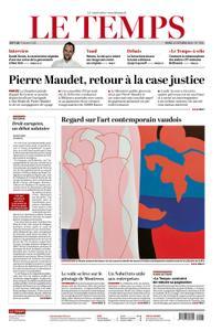 Le Temps - 12 October 2021
