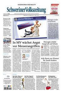 Schweriner Volkszeitung Hagenower Kreisblatt - 23. März 2018