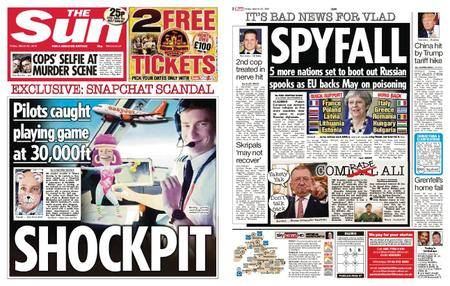 The Sun UK – 23 March 2018