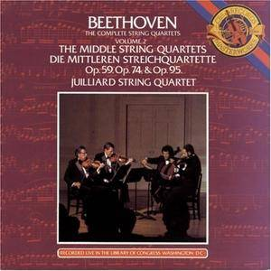 Juilliard String Quartet - Beethoven: Complete String Quartets, Vol.2 - The Middle String Quartets (1983)