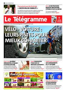 Le Télégramme Quimper – 01 octobre 2020