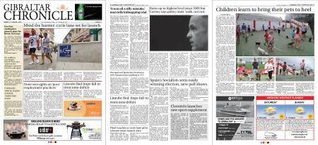 Gibraltar Chronicle – 03 August 2018