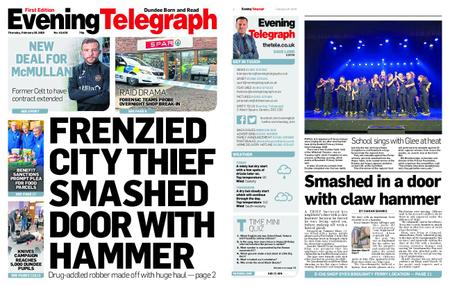 Evening Telegraph First Edition – February 28, 2019