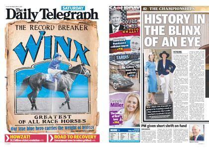 The Daily Telegraph (Sydney) – April 14, 2018