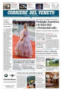Corriere del Veneto Venezia e Mestre – 01 settembre 2018