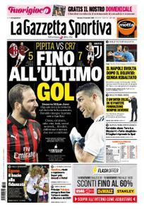 La Gazzetta dello Sport Roma – 11 novembre 2018