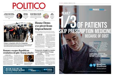Politico – February 12, 2020