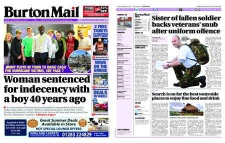 Burton Mail – September 29, 2017