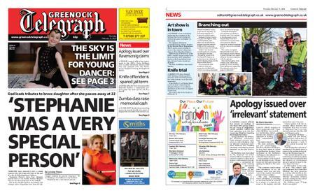Greenock Telegraph – February 13, 2020