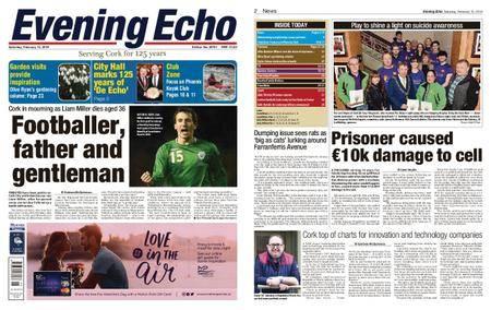 Evening Echo – February 10, 2018