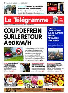 Le Télégramme Landerneau - Lesneven – 23 janvier 2020