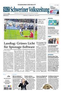 Schweriner Volkszeitung Hagenower Kreisblatt - 10. März 2020