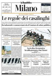 la Repubblica Milano - 10 Marzo 2020