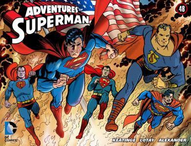 Adventures of Superman 048 2014 Digital