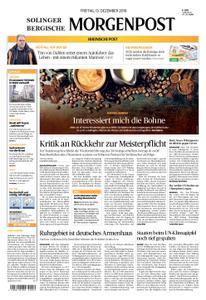Solinger Morgenpost – 13. Dezember 2019