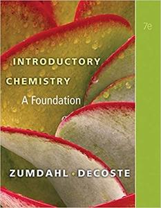 Introductory Chemistry: A Foundation (7th Edition)