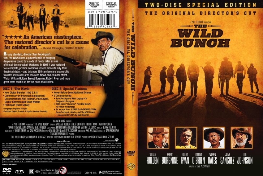 The Wild Bunch - The Original Director's Cut (1969) [RE-UP]