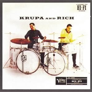 Gene Krupa, Buddy Rich - Krupa and Rich (1955) {Verve 521 643-2 rel 1994}