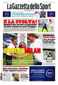 La Gazzetta dello Sport Roma – 16 maggio 2020