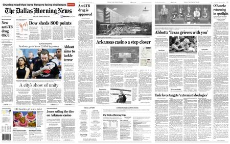 The Dallas Morning News – August 15, 2019