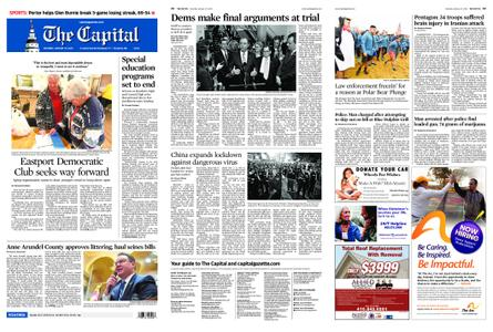 The Capital – January 25, 2020