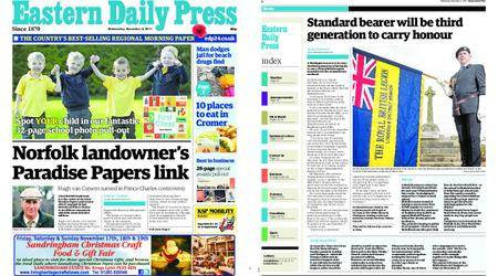 Eastern Daily Press – November 08, 2017