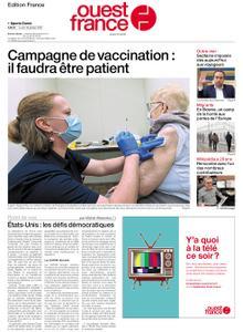 Ouest-France Édition France – 18 janvier 2021