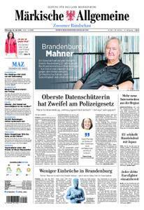 Märkische Allgemeine Zossener Rundschau - 18. Juli 2018