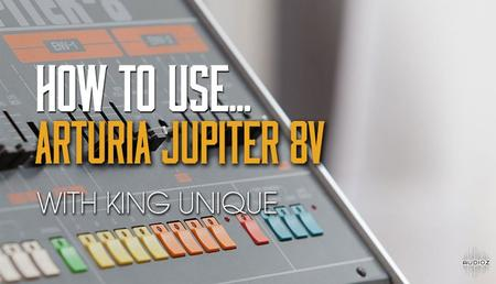 Arturia Jupiter 8V with King Unique (2019)