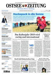 Ostsee Zeitung Wolgast - 08. Januar 2018