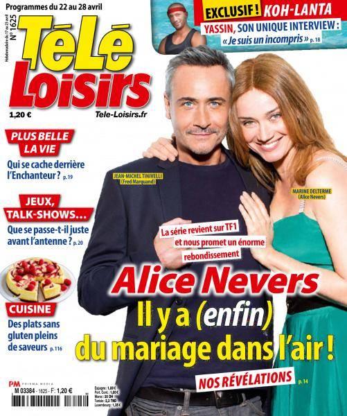 Télé Loisirs - 22 au 28 Avril 2017