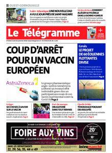 Le Télégramme Ouest Cornouaille – 10 septembre 2020