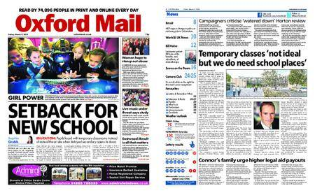 Oxford Mail – March 09, 2018