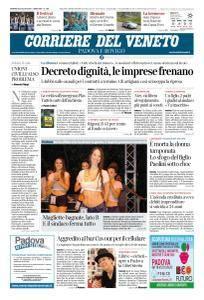 Corriere del Veneto Padova e Rovigo - 20 Luglio 2018