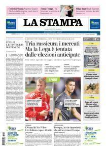 La Stampa Imperia e Sanremo - 2 Settembre 2018