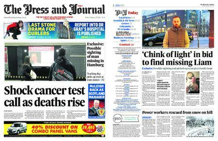 The Press and Journal Moray – February 16, 2018