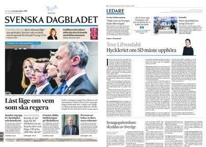 Svenska Dagbladet – 13 september 2018
