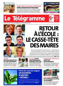 Le Télégramme Auray – 30 avril 2020