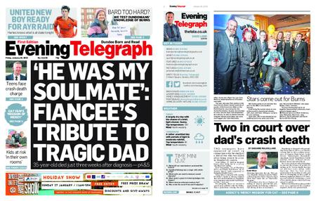 Evening Telegraph First Edition – January 25, 2019