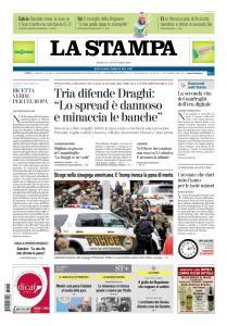 La Stampa Torino Provincia e Canavese - 28 Ottobre 2018
