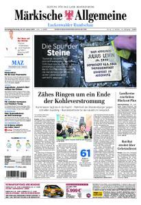 Märkische Allgemeine Luckenwalder Rundschau - 26. Januar 2019