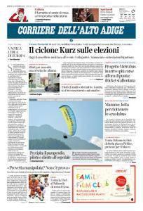 Corriere dell'Alto Adige - 14 Settembre 2018