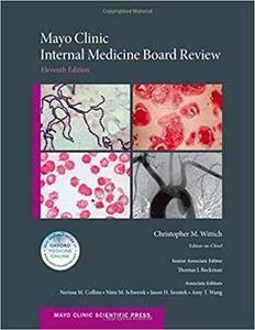 Mayo Clinic Internal Medicine Board Review, 11th edition (repost)