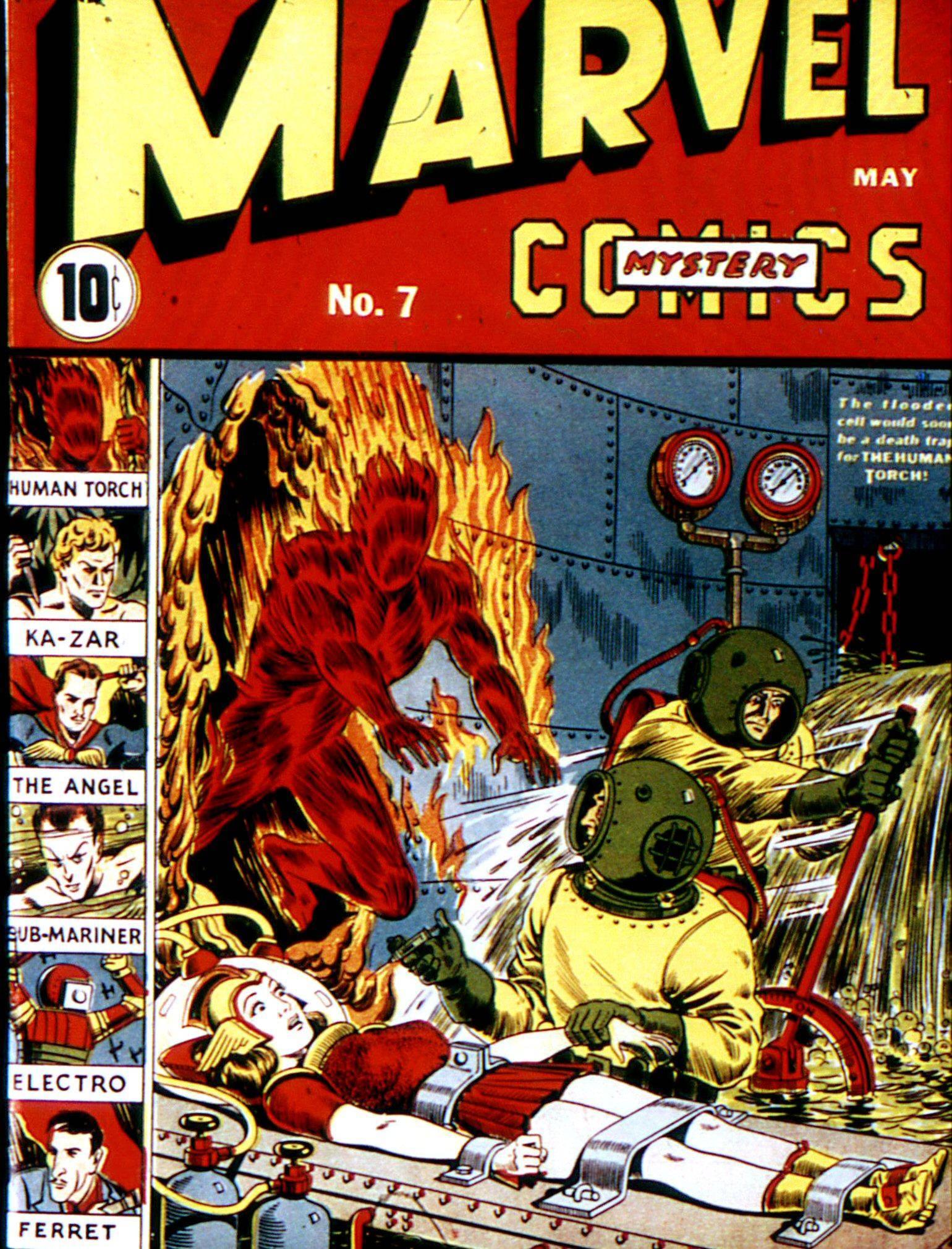 Marvel Mystery Comics v1 007
