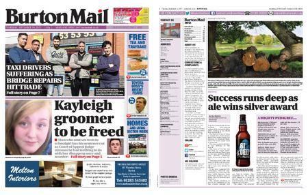 Burton Mail – September 14, 2017