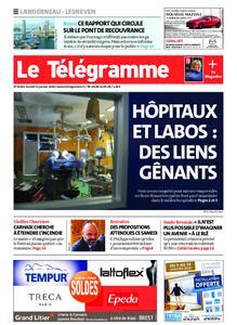 Le Télégramme Landerneau - Lesneven – 11 janvier 2020