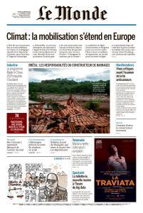 Le Monde du Mardi 29 Janvier 2019